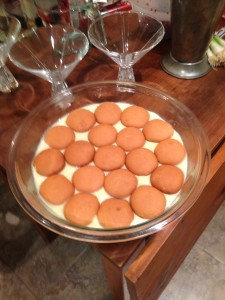 Homemade southern style banana pudding. Ya... that's right...