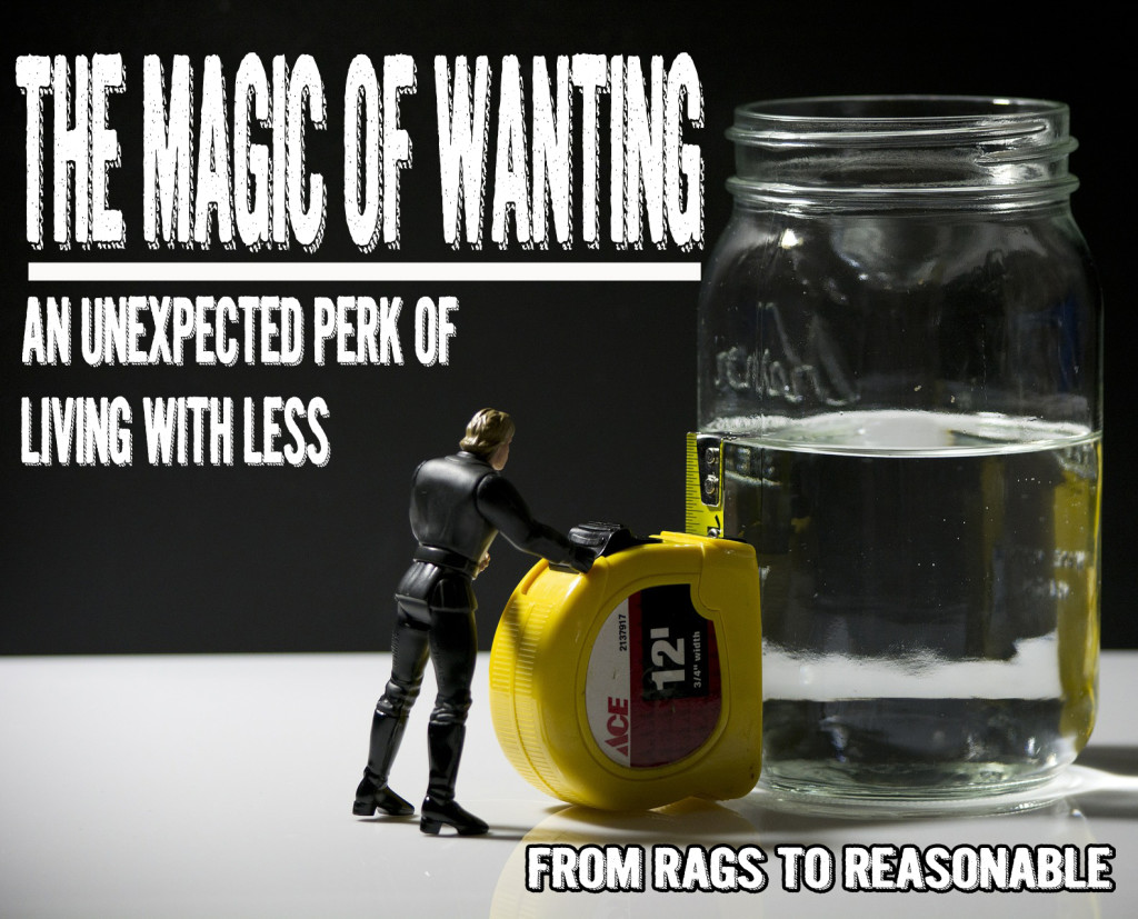 Magic of wanting