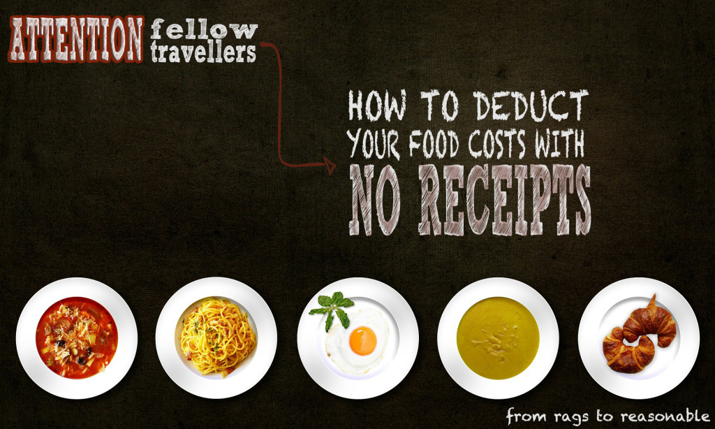 NO RECEIPTS DEDUCTIONS - FROM RAGS TO REASONABLE