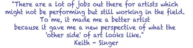 How to make a living as an artist - Quote