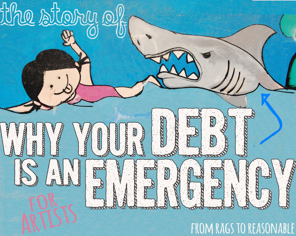 Your Debt is an Emergency Title