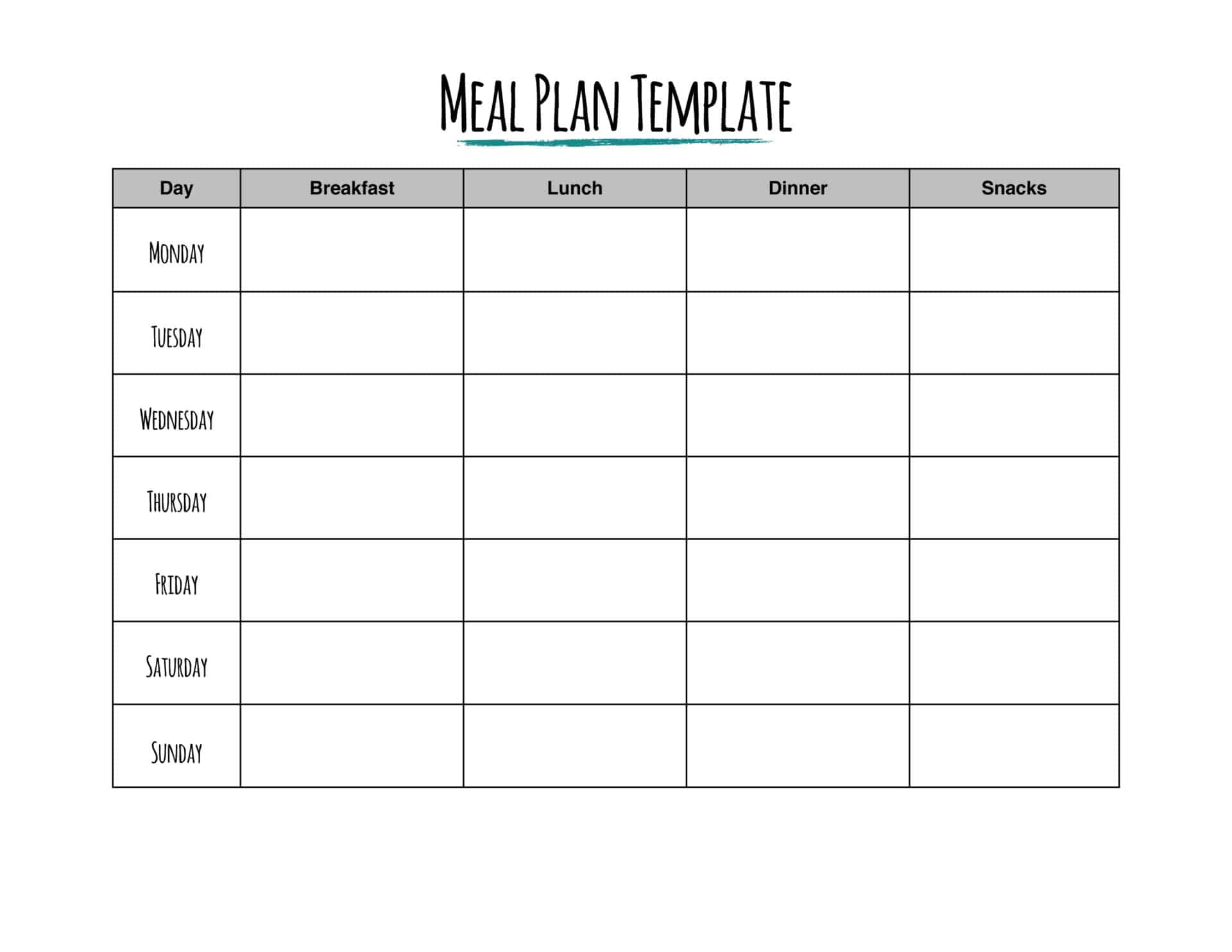 Hungry For Savings Try A Meal Plan From Rags To Reasonable