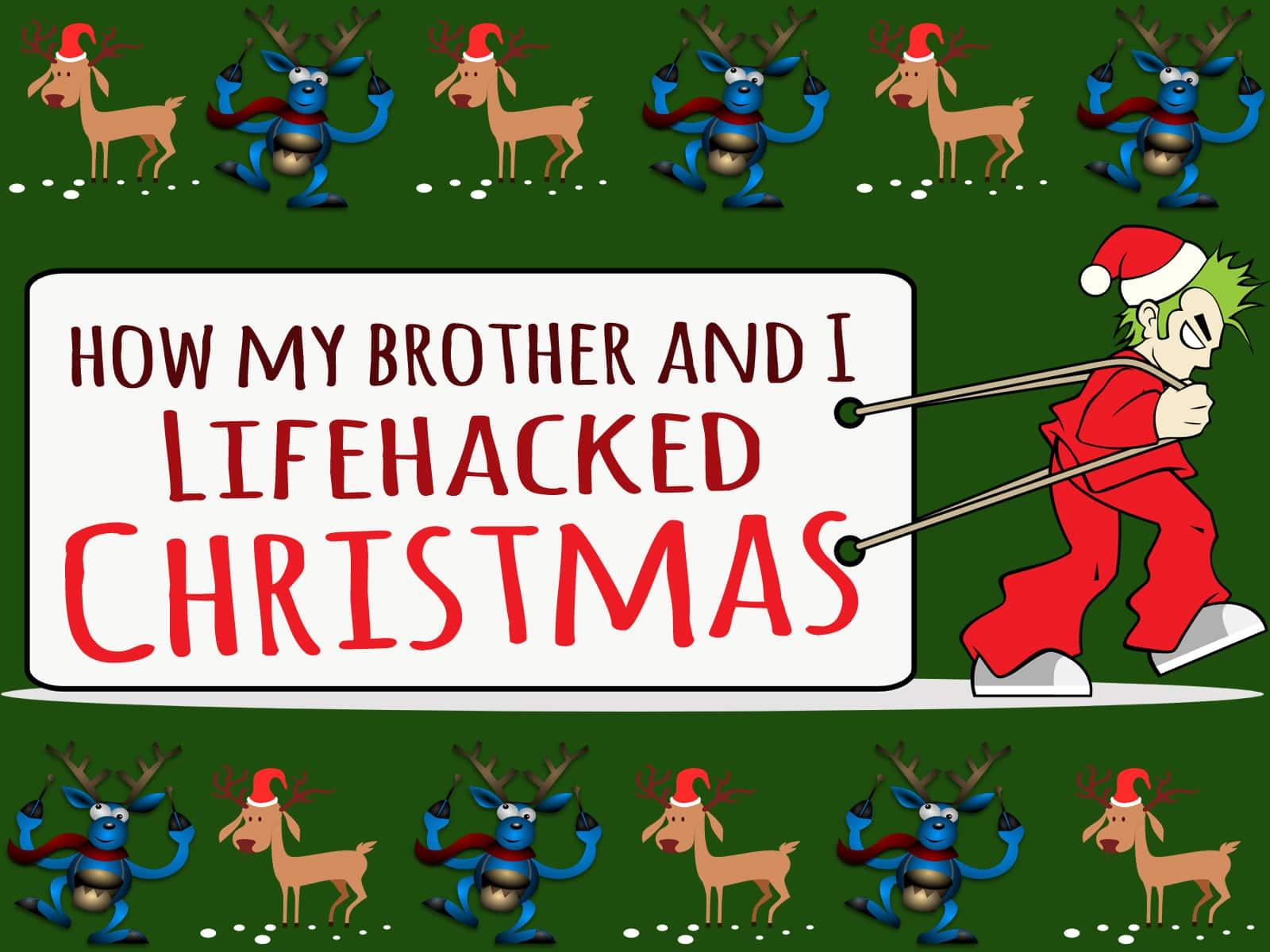 lifehack christmas from rags to reasonable