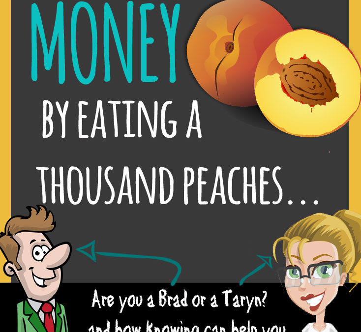 What I learned about money from eating a thousand peaches