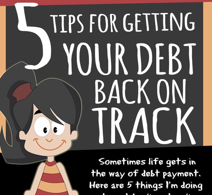 Lindsay VS her debt: 5 tips for getting your debt back on track
