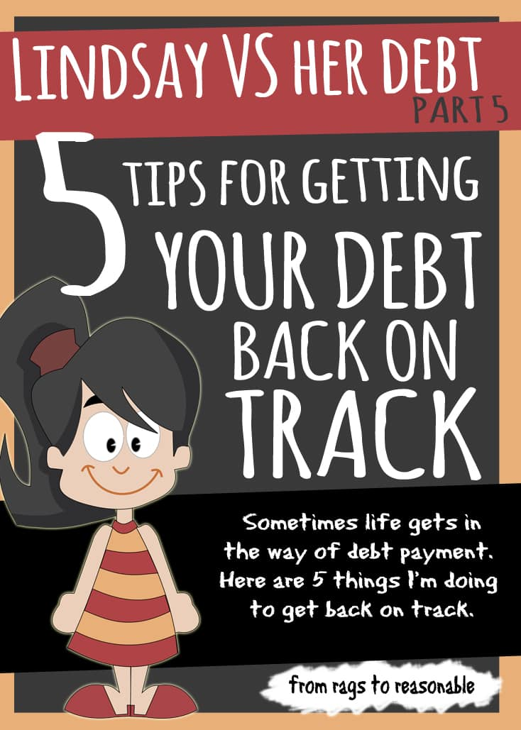 5 ways to get your debt back on track