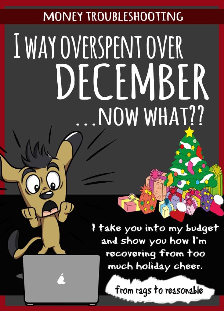 Overspent in December