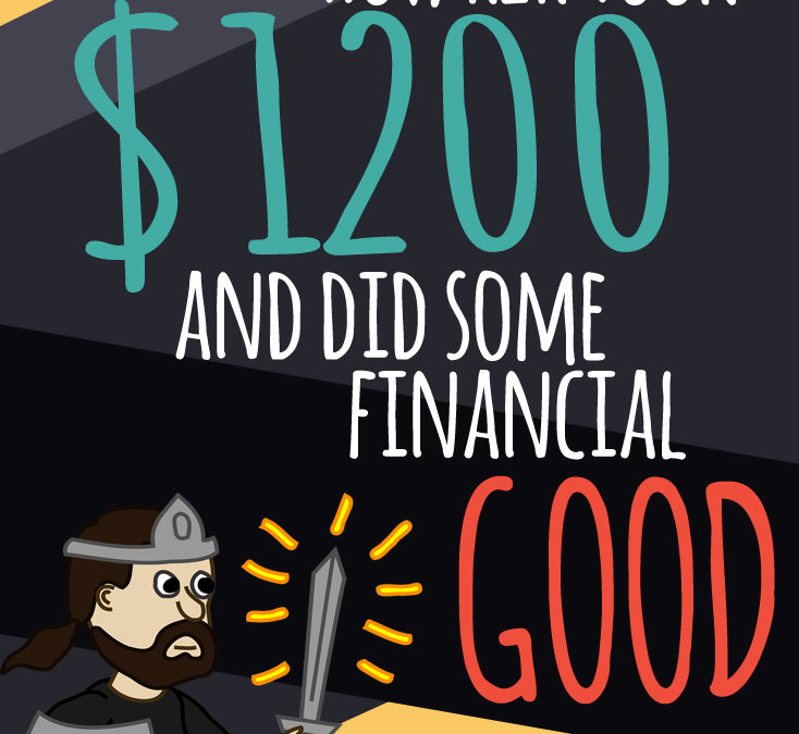 How R2R took $1,200 and did some financial good