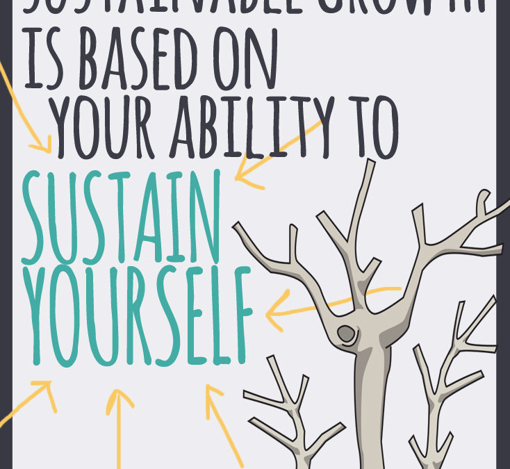 Sustainable Growth is Based on Your Ability to Sustain Yourself