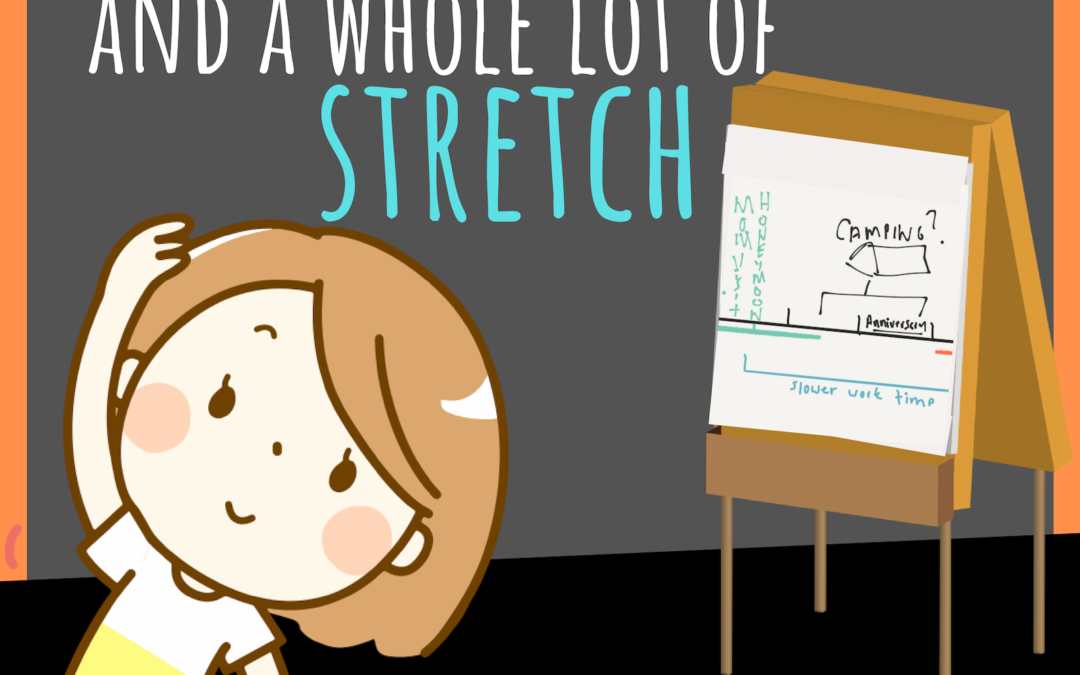 Making a Plan: With a Sketch and a Whole Lot of Stretch