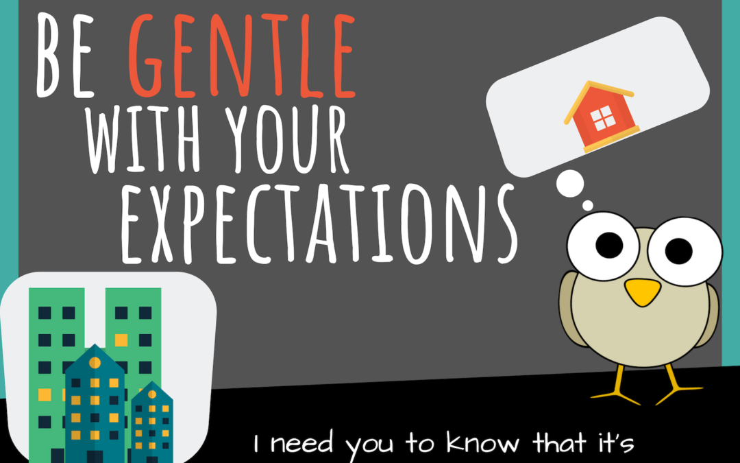Starting Some Financial Work? Be Gentle With Your Expectations