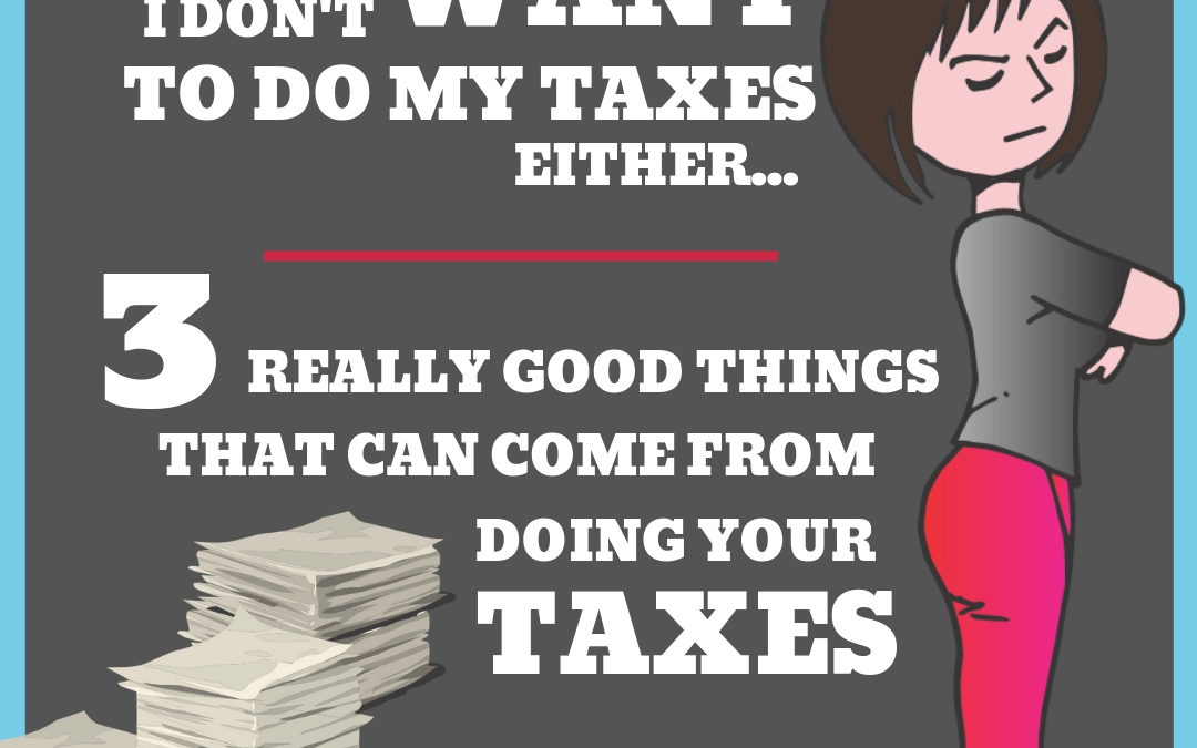 I Don't Want to do my Taxes Either